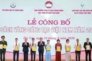 3 công trình dầu khí được vinh danh trong Sách vàng Sáng tạo Việt Nam 2020