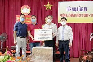 Liên đoàn Quần vợt Việt Nam hỗ trợ Đà Nẵng phòng, chống dịch