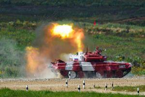 Nga tiếp tục chiến thắng nội dung đua xe tăng tại Army Games 2020
