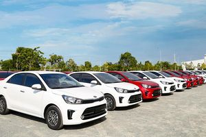 Thaco xuất khẩu 80 xe Kia Soluto sang Myanmar