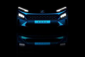 Lộ diện những hình ảnh đầu tiên về Hyundai Kona mới