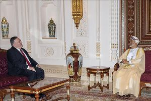 Ngoại trưởng Mỹ thảo luận với Quốc vương Oman về hợp tác song phương