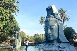 Kỳ bí tượng Phật vớt lên từ biển ở ngôi chùa xây bằng san hô và gáo dừa