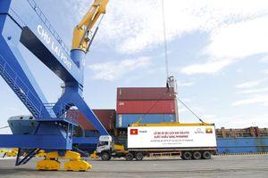 Thaco tiếp tục xuất khẩu xe sang thị trường Myanmar