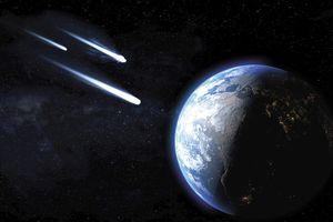 Hàng loạt thiên thạch lao tới Trái đất trong tháng này