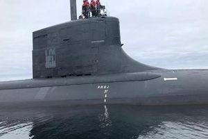 Hải quân Mỹ tiết lộ những bức ảnh đầu tiên về tàu ngầm tấn công bí mật USS Seawolf