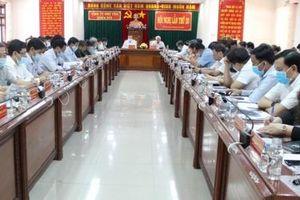 Bí thư Tỉnh ủy Phú Yên Phạm Đại Dương: Tiếp tục vừa chống dịch, vừa phát triển kinh tế