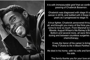 'Chiến binh báo đen' Boseman đột ngột qua đời