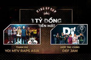 HOT: Quán quân King Of Rap 2020 đại diện Việt Nam tham gia Yo! MTV Raps Asia, sản xuất MV cùng Def Jam Recordings