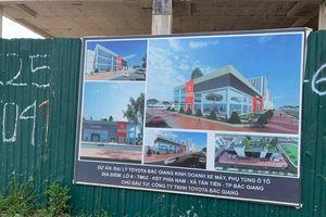 Sở Xây dựng Bắc Giang thông tin về vụ sập giàn giáo tại dự án xây dựng Đại lý Toyota