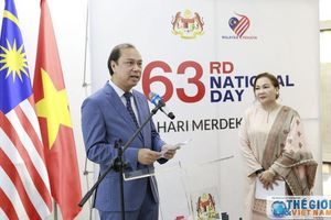 Thứ trưởng Ngoại giao Nguyễn Quốc Dũng dự Lễ thượng cờ nhân kỷ niệm 63 năm Quốc khánh Malaysia