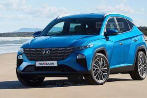 Xem trước Hyundai Tucson 2021: thiết kế mới hầm hố và thể thao hơn
