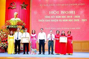 Quận Thanh Xuân (Hà Nội) hoàn thành xuất sắc nhiệm vụ năm học 2019-2020
