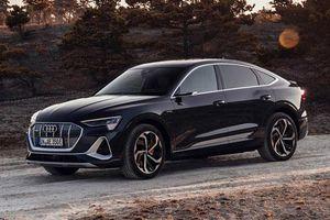 Audi e-tron Sportback 2021 chốt giá gần 2,5 tỷ đồng