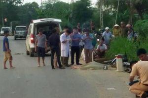 Đâm 2 cột mốc trên đường Hồ Chí Minh, người đi xe máy tử vong