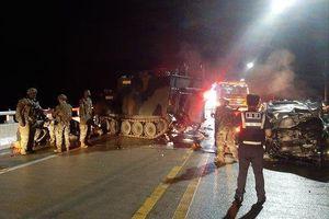 Soi xe bọc thép Mỹ vừa va chạm với ôtô khiến 4 người tử vong tại Hàn Quốc