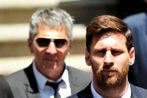 Messi và những ngôi sao chọn người thân làm đại diện