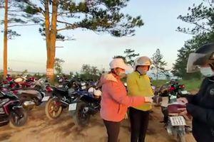 Phản ánh tiếp điểm du lịch 'săn mây' TP Đà Lạt (Lâm Đồng): Cưỡng chế tháo dỡ vẫn thu tiền đón khách