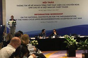 Việt Nam đạt được những bước tiến vượt bậc trong việc thúc đẩy và bảo vệ quyền con người