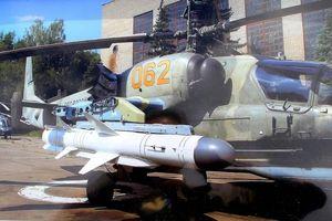 Sức mạnh đáng gờm của Ka-52 khi mang tên lửa chống hạm