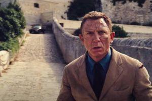 Hình ảnh Daniel Craig ở lần cuối cùng thủ vai điệp viên 007