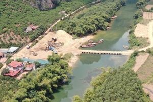 Con đường cắt đôi dòng sông Trung: Doanh nghiệp đã phá bỏ