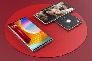 Smartphone LG Wing màn hình xoay như cánh quạt sắp chào hàng