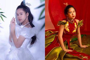 Hoa hậu nhí Bella Vũ khoe sắc trong bộ ảnh đón Trung thu