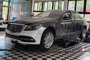 Thợ Việt độ Mercedes-Benz S500 cũ lên Maybach chỉ 390 triệu đồng