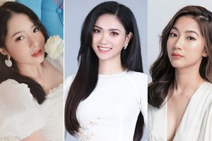 Ba du học sinh sở hữu nhan sắc xinh đẹp, học vấn 'khủng' tại Hoa hậu Việt Nam