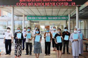 Thêm 23 bệnh nhân ở Đà Nẵng, Quảng Nam khỏi bệnh COVID-19