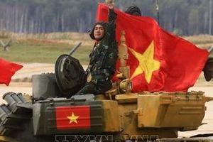 Đoàn Việt Nam giành nhiều thành tích xuất sắc tại Army Games 2020
