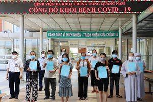 23 bệnh nhân COVID-19 được công bố khỏi bệnh