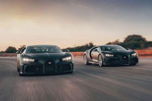 Hai mẫu Bugatti Chiron đặc biệt sắp trình làng