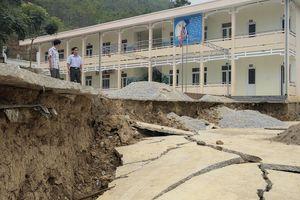Thanh Hóa: Đóng cửa một trường học vì nguy cơ sụt lún