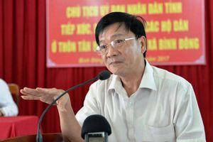 Thủ tướng quyết định kỷ luật cảnh cáo ông Trần Ngọc Căng