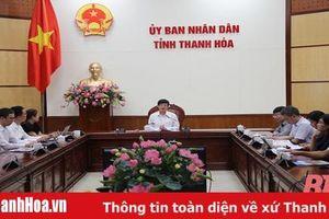 Chủ tịch UBND tỉnh Thanh Hóa làm việc với Công ty WHA Industrial Development PCL (Thái Lan)