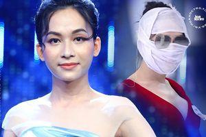 Băng kín mặt đi thi người mẫu, đâu ngờ Hà An 'Người Ấy Là Ai' gặp tác dụng ngược