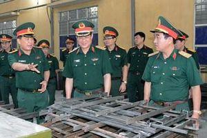 Đoàn công tác Bộ Quốc phòng kiểm tra và làm việc tại Nhà máy Z117