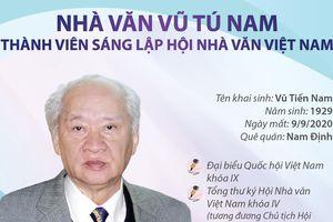 Nhà văn Vũ Tú Nam: Một nhà văn lớn, một lãnh đạo văn nghệ đức độ, khoan dung