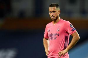 Zidane nổi giận vì Eden Hazard tăng cân 'phi mã'