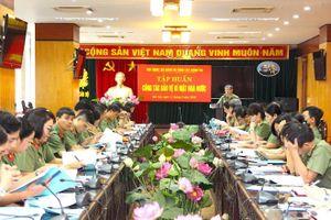 Cục Công tác đảng và công tác chính trị tập huấn công tác bảo vệ bí mật nhà nước