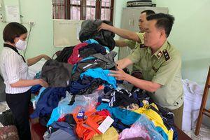 Hà Giang: Tiêu hủy gần 2.000 sản phẩm giả mạo nhãn hiệu Adidas, Nike, Gucci, Chanel