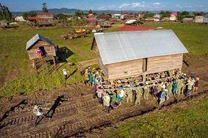 Điển hình làng nông thôn mới vùng dân tộc thiểu số
