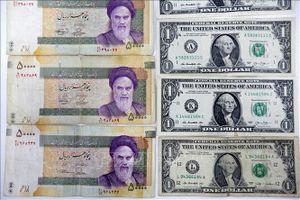Đồng nội tệ Iran giảm giá kỷ lục so với USD