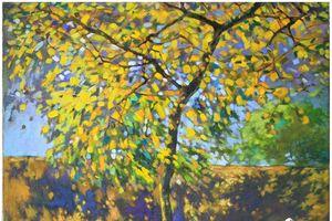 'Thiên nhiên ở giữa' đánh dấu 10 năm hoạt động của nhóm họa sĩ Lưu động
