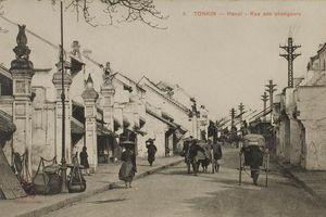 Phố của những người đổi tiền ở Hà Nội hơn 100 năm trước