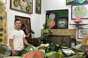 Nghệ thuật bất tận từ sen của chàng họa sỹ trẻ xứ Huế