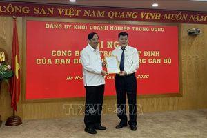 Đồng chí Nguyễn Đức Phong giữ chức Phó Bí thư Đảng ủy Khối Doanh nghiệp Trung ương