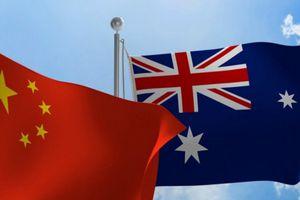 Quan hệ Australia - Trung Quốc đang lao dốc không phanh